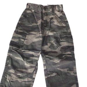 Fubu Green  Camo Pants Boys Size 5 NWT